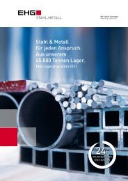 EHG Katalog Lagerprogramm 2021 / 2022