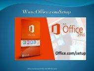 www.office.com/setup - office.com/setup
