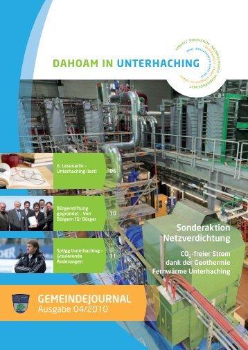 GJUnterhaching 04_2010.pdf (2,1 MB) - Gemeinde Unterhaching
