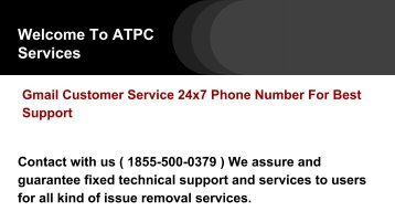 [ PDF ] Gmail Support Customer Care Number 18555000379