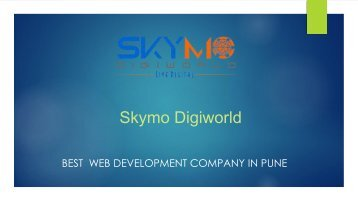 Website Design company in pune | Web development company in pune | Skymo Digiworld