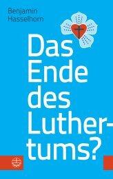 Hasselhorn, Das Ende des Luthertums, ISBN 978-3-374-04883-0
