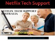Netflix Phone Toll-Free 1-800-383-368 Number Australia- For 24*7 Tech Help