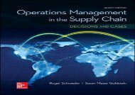 [+]The best book of the month OPERATIONS MANAGEMENT IN THE SUPPLY CHAIN: DECISIONS   CASES (Mcgraw-hill Series Operations and Decision Sciences) [PDF]