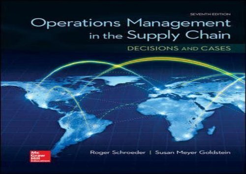 Operation Management Book Pdf
