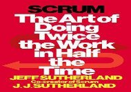 [+][PDF] TOP TREND Scrum: The Art of Doing Twice the Work in Half the Time  [DOWNLOAD]