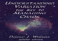[+][PDF] TOP TREND Understanding Variation: The Key to Managing Chaos  [FREE]