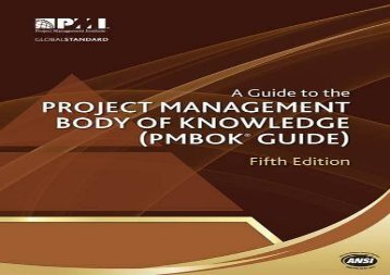 [+]The best book of the month A Guide to the Project Management Body of Knowledge (Pmbok Guide) - 5th Edition (Pmbok#174; Guide)  [FULL]