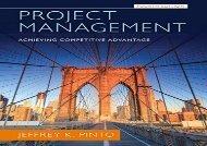 [+][PDF] TOP TREND Project Management: Achieving Competitive Advantage  [FREE]