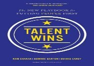 [+][PDF] TOP TREND Talent Wins: The New Playbook for Putting People First  [READ]