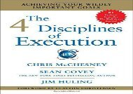 [+]The best book of the month The 4 Disciplines of Execution: Achieving Your Wildly Important Goals  [DOWNLOAD]