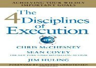 [+]The best book of the month The 4 Disciplines of Execution: Achieving Your Wildly Important Goals  [READ]