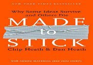 [+]The best book of the month Made to Stick: Why Some Ideas Survive and Others Die  [NEWS]