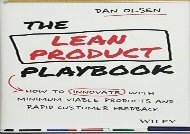 [+]The best book of the month The Lean Product Playbook: How to Innovate with Minimum Viable Products and Rapid Customer Feedback  [READ]