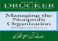 [+]The best book of the month Managing the Non-Profit Organization: Principles and Practices  [NEWS]