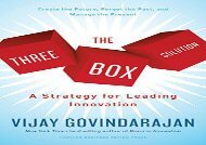 [+]The best book of the month The Three-Box Solution: A Strategy for Leading Innovation  [DOWNLOAD]