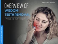 Wisdom Teeth removal cost in Australia is Affordable Now!