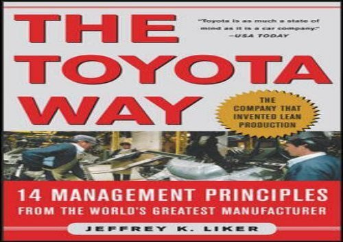 Toyota pdf liker way