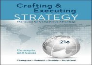 [+]The best book of the month Crafting   Executing Strategy: The Quest for Competitive Advantage: Concepts and Cases  [DOWNLOAD]