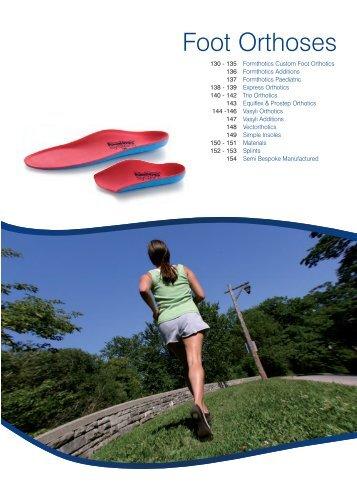 Foot Orthoses - Reha oprema