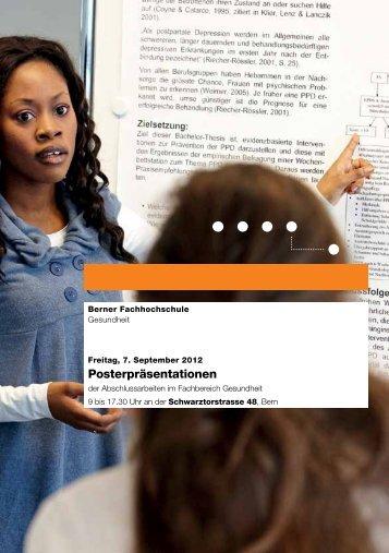 Programm als PDF - Gesundheit - Berner Fachhochschule