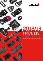 Ace Supplies 2018/19 Price List