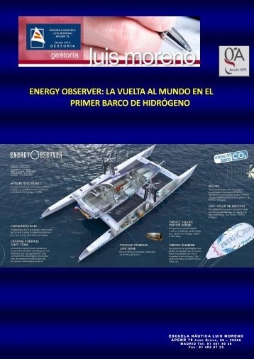 ENERGY OBSERVER LA VUELTA AL MUNDO EN EL PRIMER BARCO DE HIDRÓGENO - Elmundo