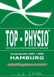 Top-Physio Kursprogramm Hamburg 2008