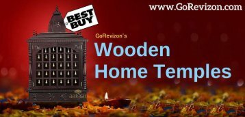 Wooden Temple Online Shopping:- Get the Finest Wooden Crafted Mandir for Worship Home