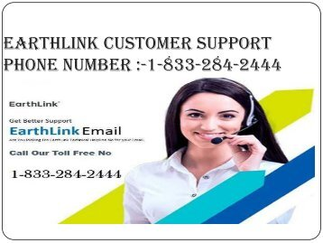 Easy To Reset Your Earthlink Email Password By 1-833-284-2444  EarthLink Customer Support Phone Number