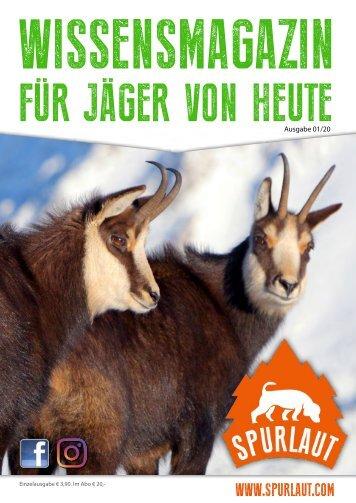 Spurlaut -Wissensmagazin für Jäger von heute 0/2018