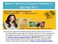 Norton customer support Number 1-800-305-9571