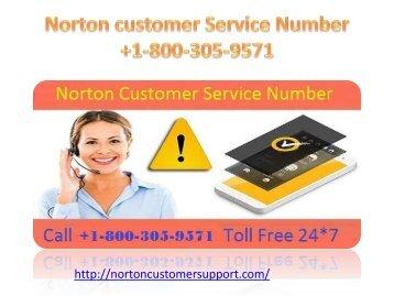 Norton customer Service  Number 1-800-305-9571 (1)