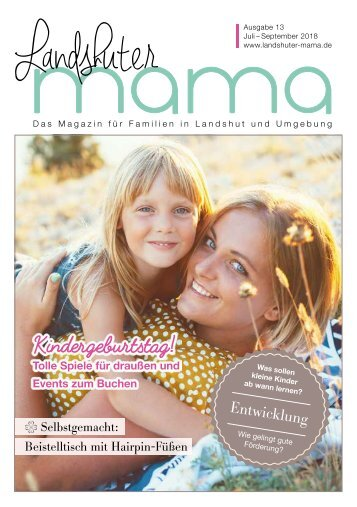 Landshuter Mama/ Ausgabe 13 / Jul-Sep