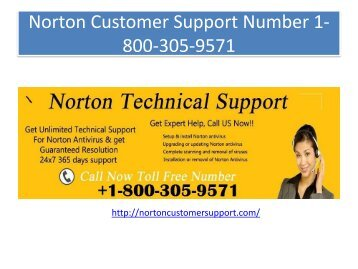 Norton Technical  Support Number 1-800-305-9571 (1)