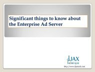 significant things to know about enterprise ad server
