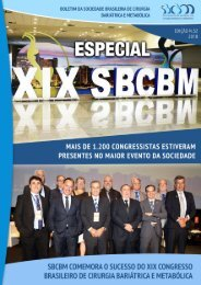 BOLETIM SBCBM - EDIÇÃO 52 - ESPECIAL XIX CONGRESSO BRASILEIRO DE CIRURGIA BARIÁTRICA E METABÓLICA DA SBCBM