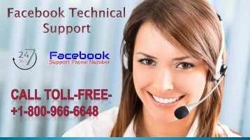 Facebook Technical Support to troubleshoot all Facebook  technical issues