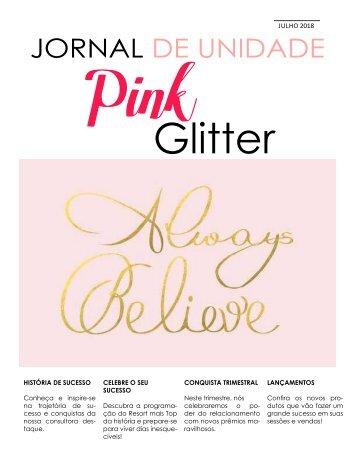 jornal pink glitter _julho