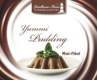 Landhaus-Team: Mini - Pudding