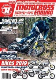 Motocross Enduro Ausgabe 08/2018