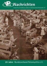Nachrichten - Bundesverband Polio e.V.