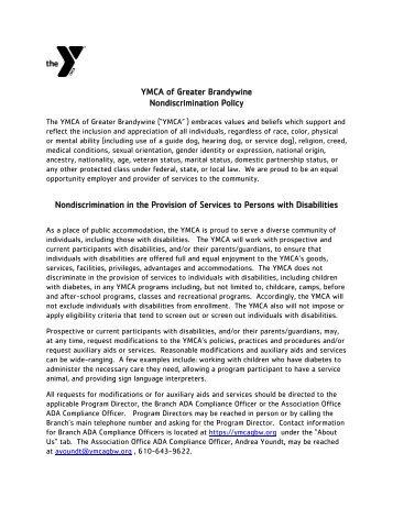 Non-Discrimination-Policy