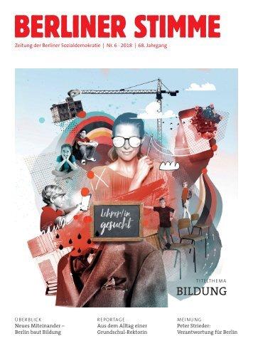 Berliner Stimme Nr. 6 2018