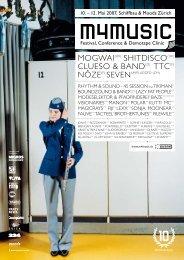 Programmheft 2007 (PDF) - M4Music