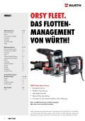 Flottenmanagement für das Bau-, Holz- und Metall-Handwerk - Würth - Seite 2