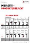 Flottenmanagement für das Bau-, Holz- und Metall-Handwerk - Würth - Seite 3