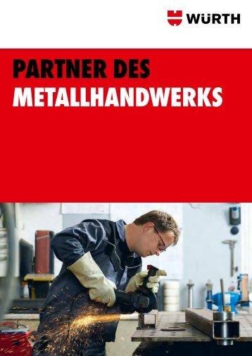 partner deS MetaLLHandWerKS - Würth