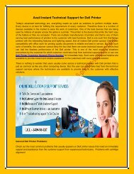 Avail Instant Technical Support for Dell Printer
