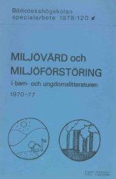 MIWOVi&RD och - BADA - Högskolan i Borås